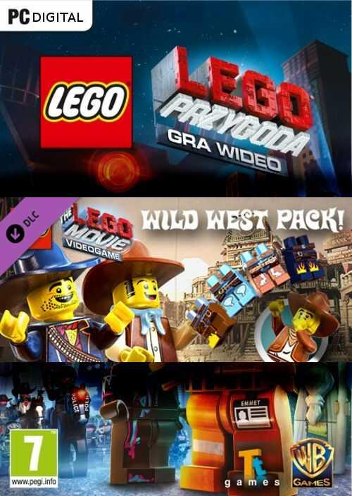 LEGO Przygoda Gra wideo: Dziki Zachód DLC (PC) PL klucz Steam