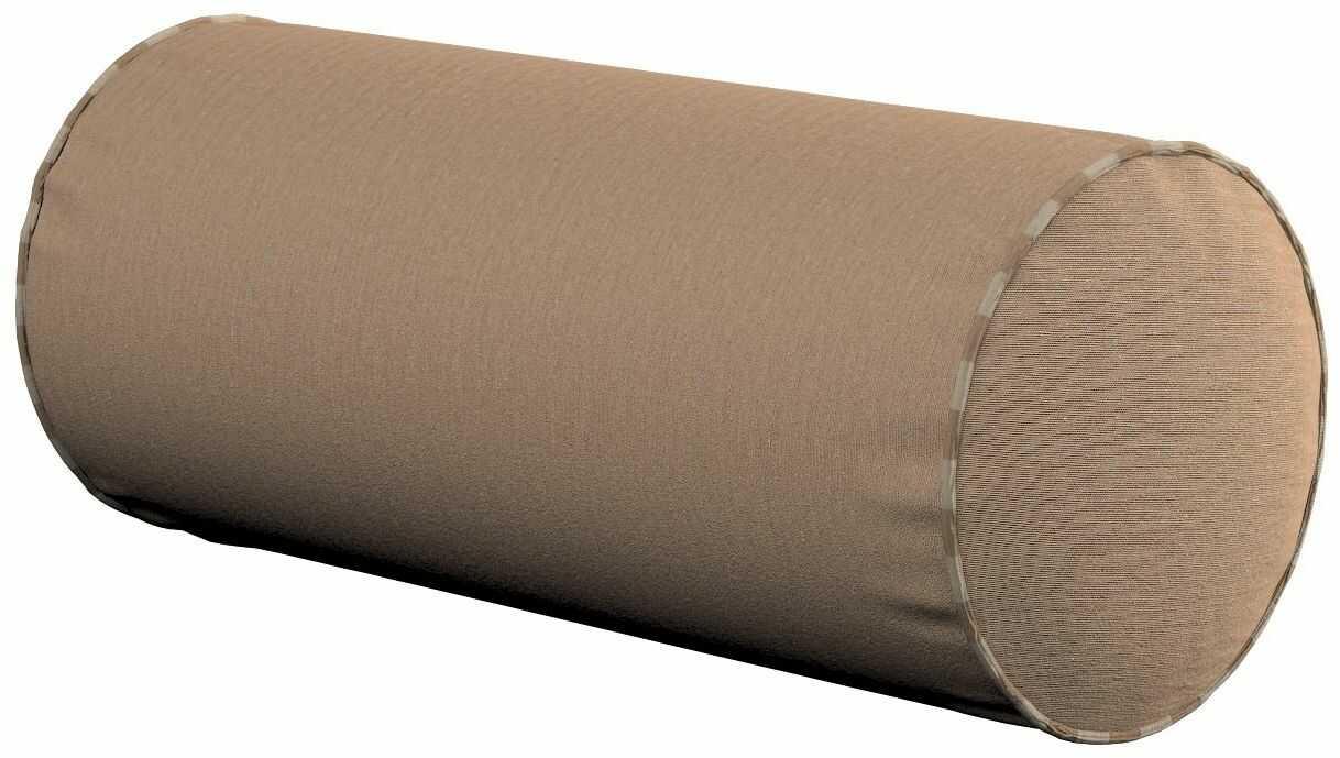 Poduszka wałek prosty, beżowy, Ø16  40 cm, Quadro