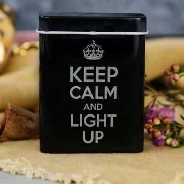 Keep calm - etui na papierosy z grawerem