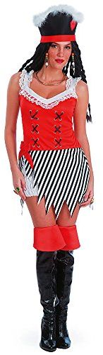 Carnival Toys 83206 - piratka, damski kostium z kapeluszem, S