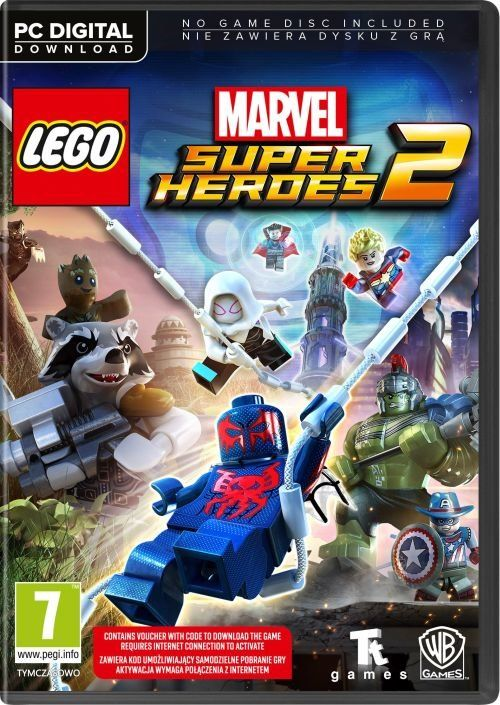 LEGO Marvel Super Heroes 2 (PC) PL klucz Steam