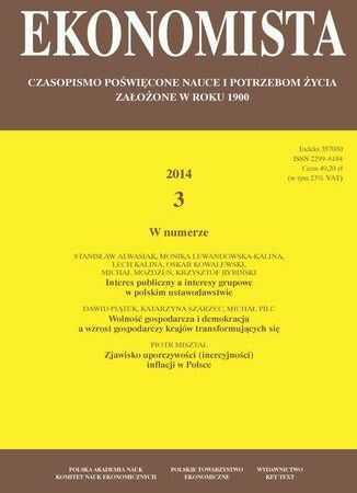 Ekonomista 2014 nr 3 - Ebook.