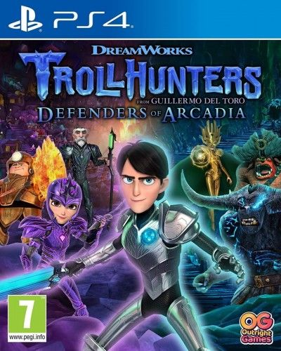 Trollhunters Defenders of Arcadia PS 4