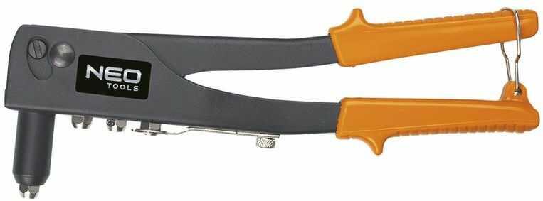Nitownica do nitów stalowych i aluminiowych 2,4-3,2-4,0-4,8mm 18-101