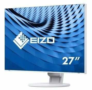 "EIZO 4K Monitor LCD 27"" EV2785-WT, Wide 3840 x 2160 (16:9), IPS, LED, ultra slim, USB-C, biała obudowa. - Certyfikaty Rzetelna Firma i Adobe Gold Reseller"