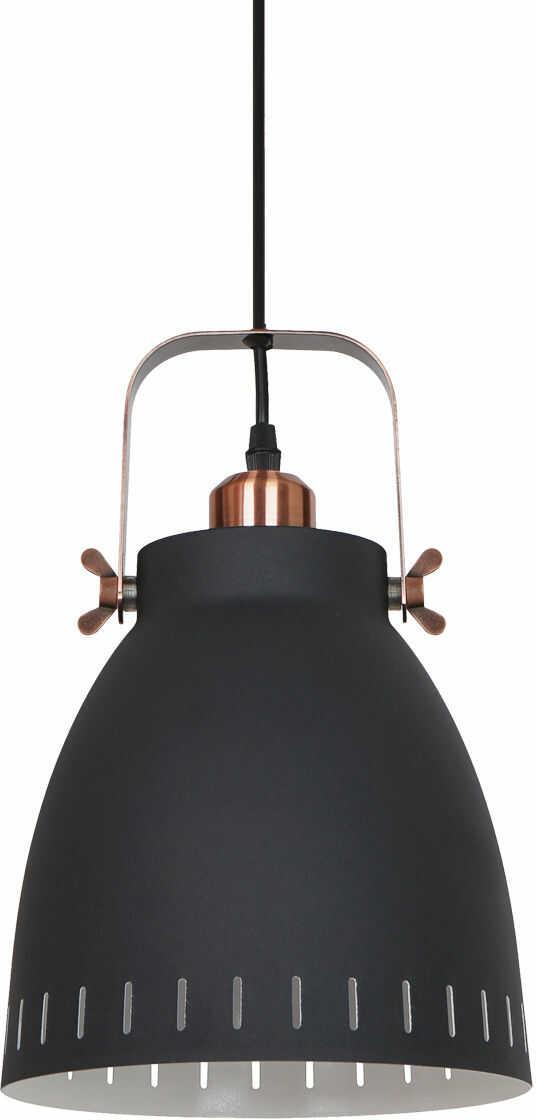 Italux Franklin MD-HN8026M-B+RC lampa wisząca retro metal 1x60W E27 21,5 cm