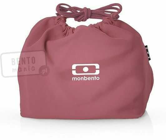Torebka na lunch box MONBENTO - blush
