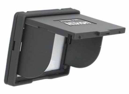 """Osłona wyświetlacza LCD Nikon 2.5"""" czarna"""