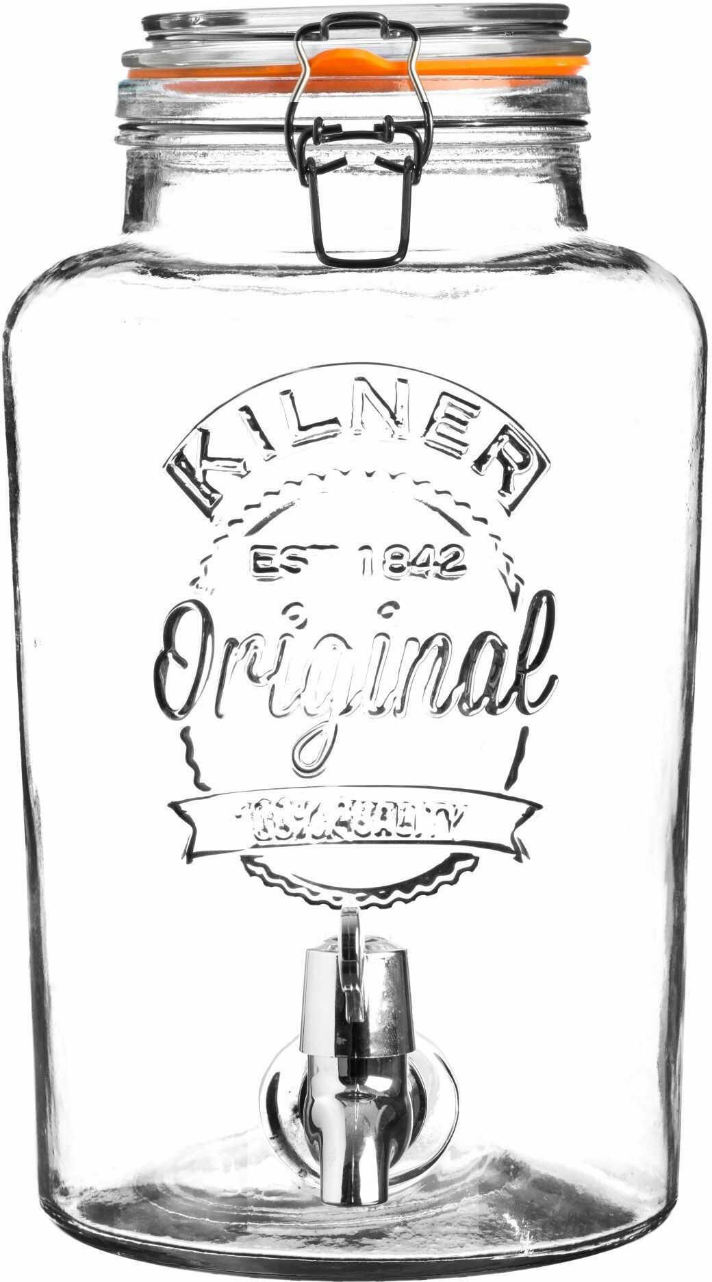 Słój szklany z kranikiem 8 litrów 25.403 Kilner