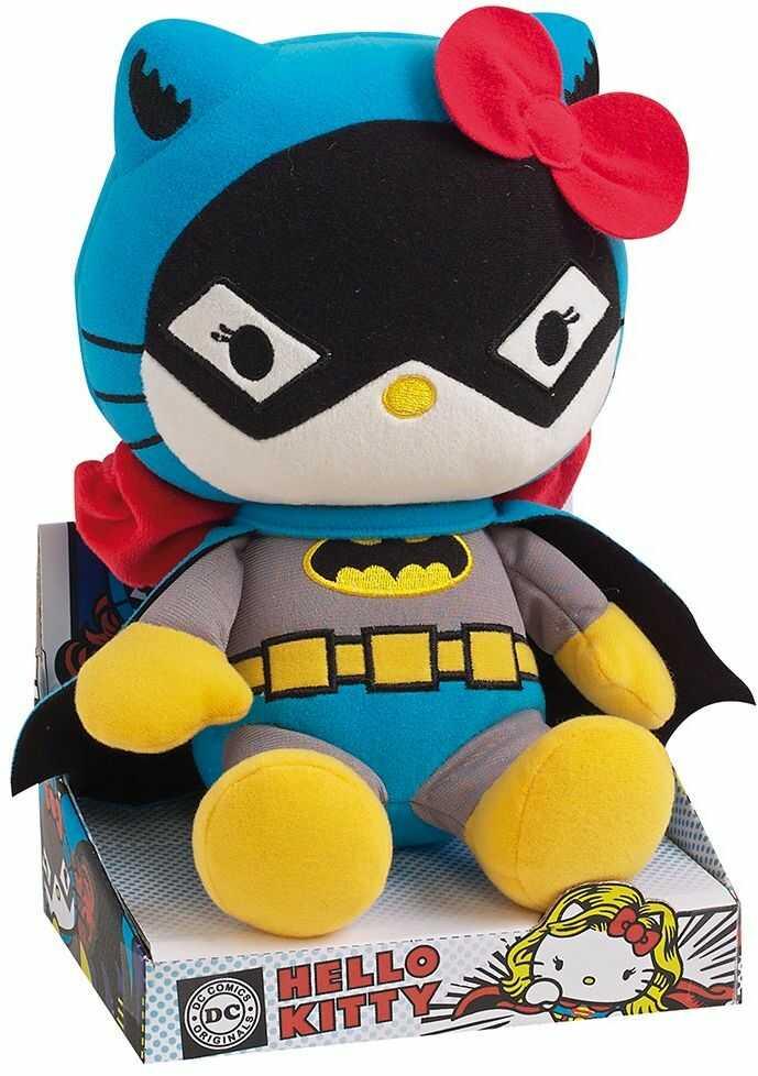 Jemini Hello Kitty 022789 pluszowa figurka w stylu DC-Comicheld Batman, 27 cm