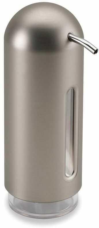 Dozownik do mydła (srebrny) Penguin Umbra