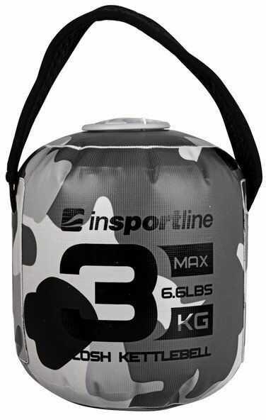 Hantla regulowana Vin-Bell Kettlebell Quabell 3 kg Insportline