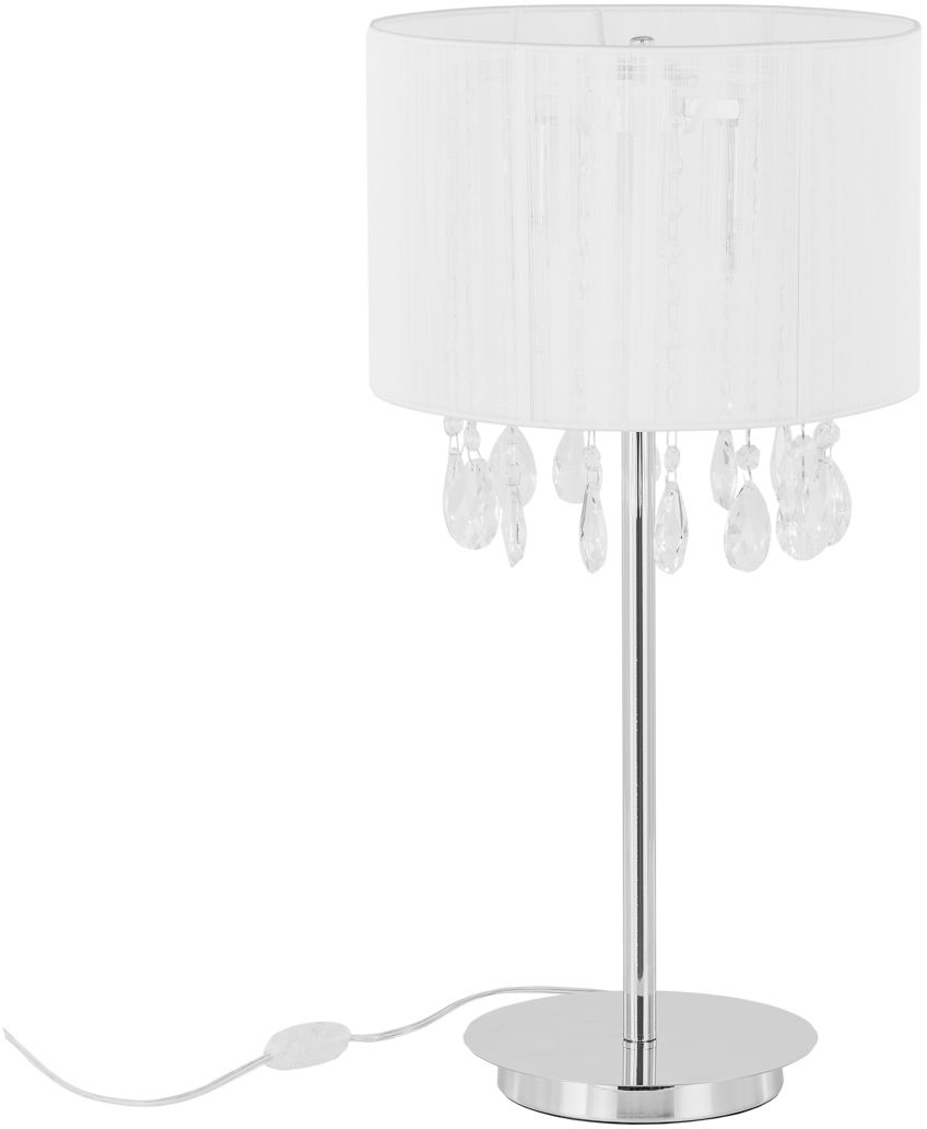 Lampa stołowa klasyczna abażurowa Essence MTM9262/3P WH Italux