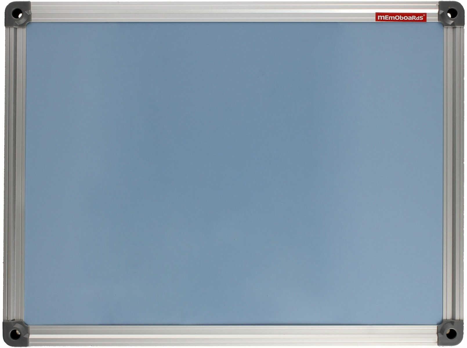 Tablica suchościeralno-magnetyczna 30x40 niebieska ALU Memoboards