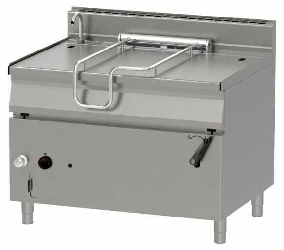 Patelnia gazowa z uchylaniem ręcznym 120L 30000W 1200x900x(H)900mm