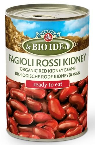 Fasolka czerwona KIDNEY (puszka) BIO 400 g La Bio Idea