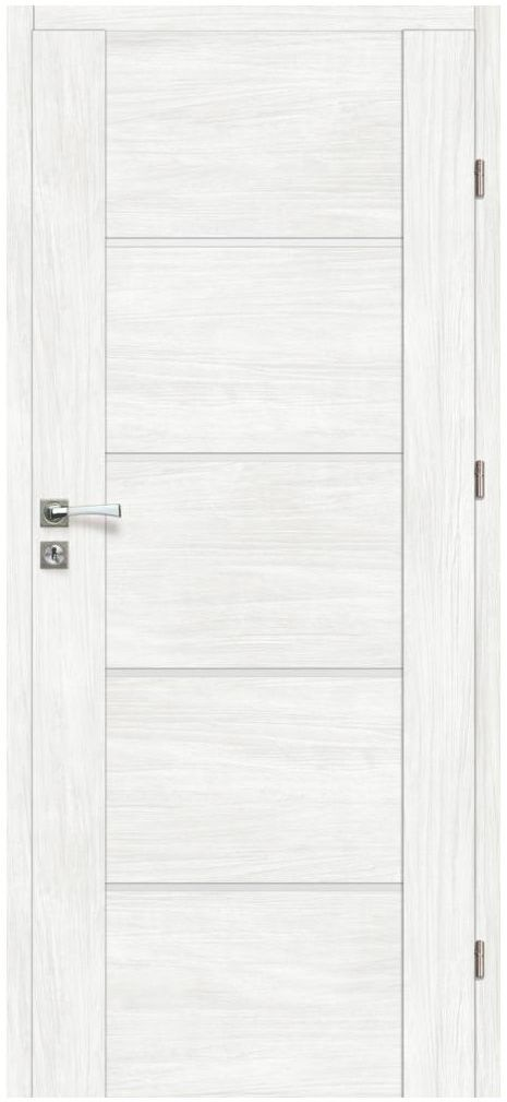 Skrzydło drzwiowe pokojowe MALIBU Bianco 70 Prawe ARTENS