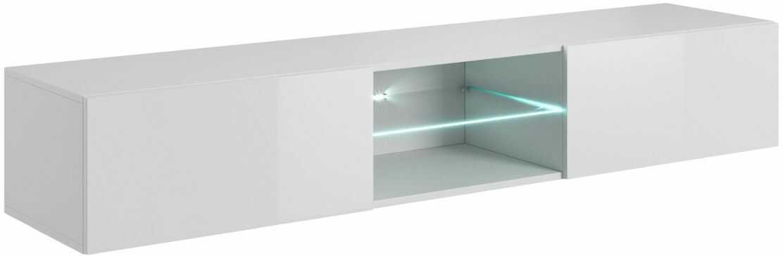 LIVO RTV 180 półka / szafka wisząca biały Halmar