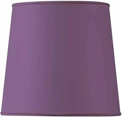 Klosz lampy w kształcie USA, średnica 20 x 16 x 18,5 cm, fioletowy