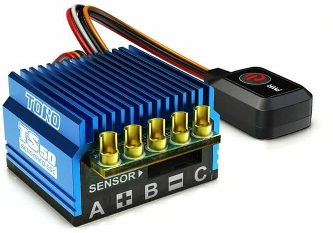 SkyRC TORO TS50 SENSORED ESC Regulator