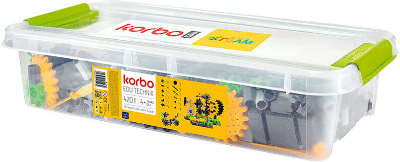 Klocki konstrukcyjne Korbo EDU Technix 420 el.