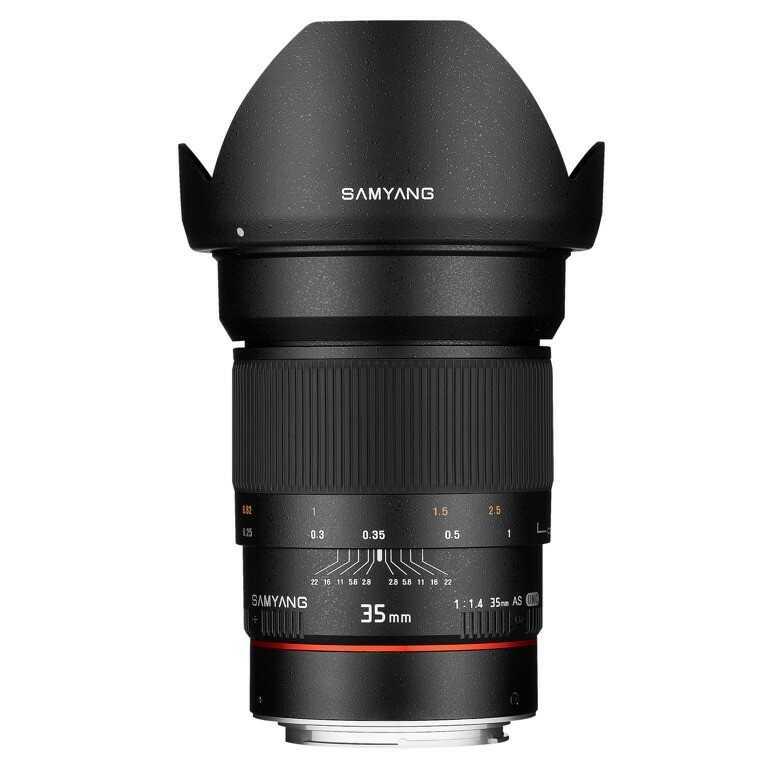 Obiektyw Samyang 35mm f1.4 AS UMC Canon AE