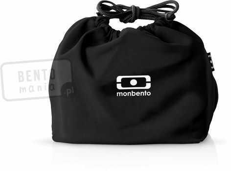 Torebka na lunchbox MONBENTO Pochette - czarna