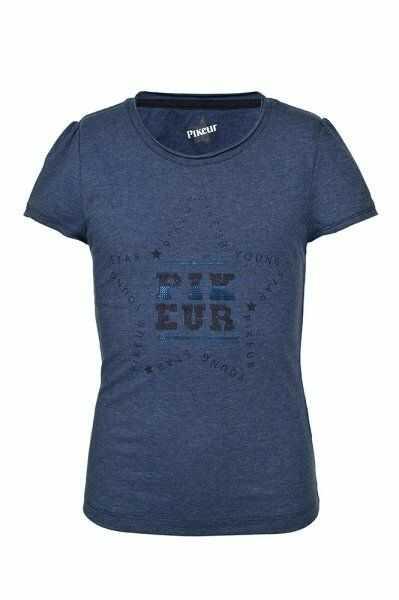 Koszulka LISA - Pikeur - blue melange