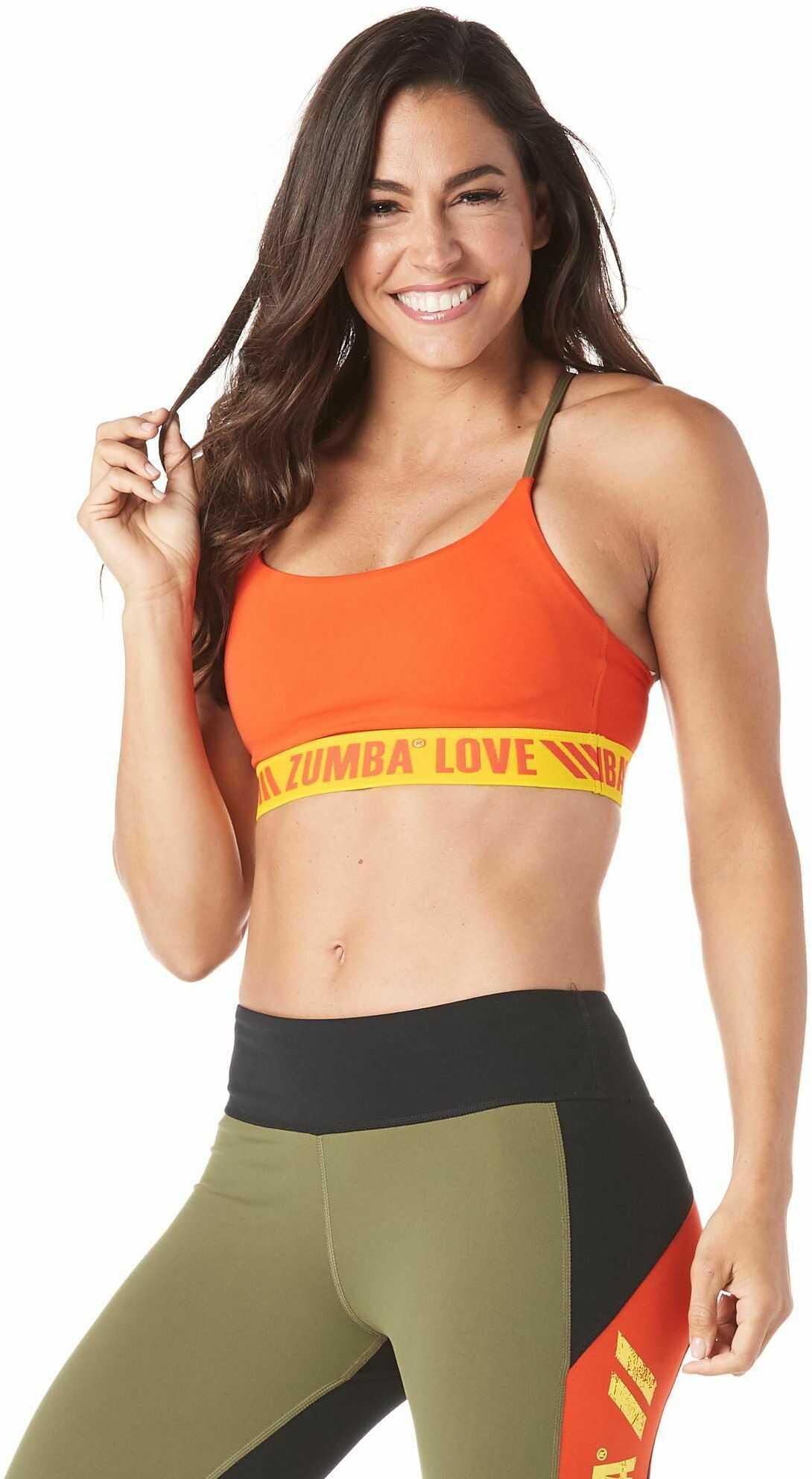 Zumba 126 nadruk seksowne oddychające odzież aktywna moda trening bralety dla kobiet z paskami, wiśnia, XXL