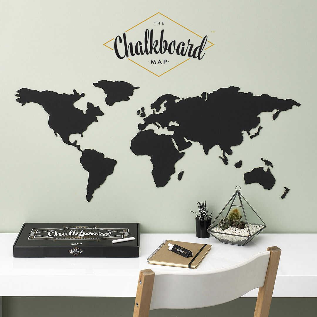 Tablicowa Korkowa Mapa Świata