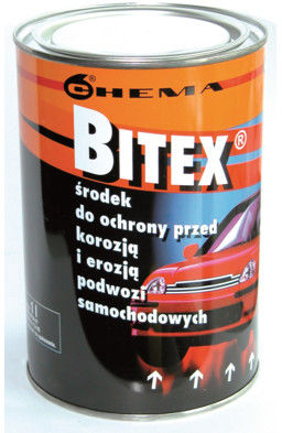 Preparat antykorozyjny do konserwacji podwozia Bitex 1 L Darmowa dostawa