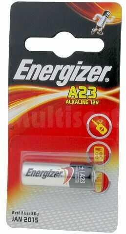 Bateria alkaliczna 12V cylindryczna Energizer A23 blister