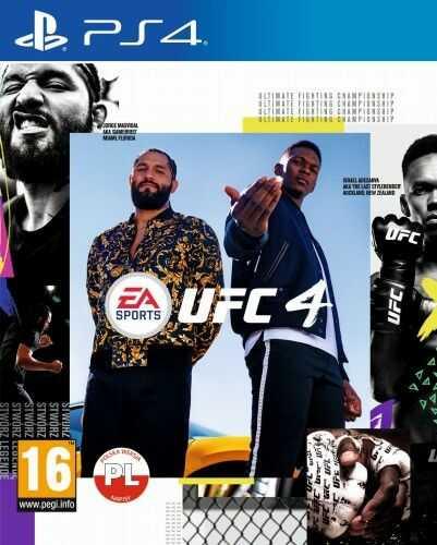 UFC 4 PS4 Używana
