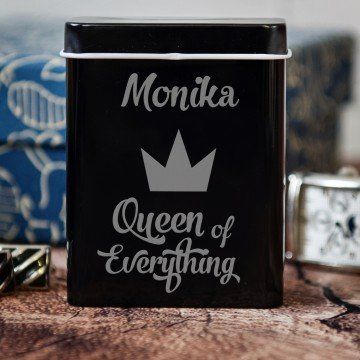 Queen of everything - etui na papierosy z grawerem