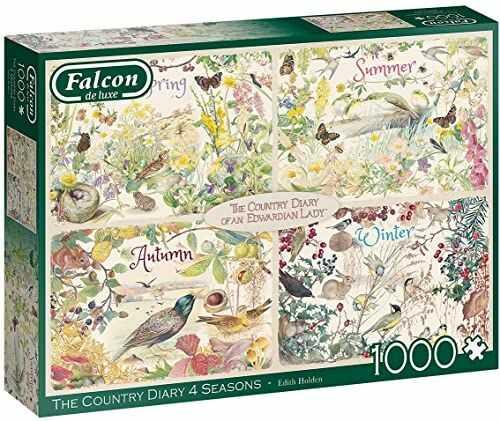 Jumbo Falcon de luxe Country Diary 4 pory roku 1000 elementów puzzle