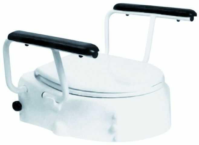 Nasadka toaletowa z poręczami