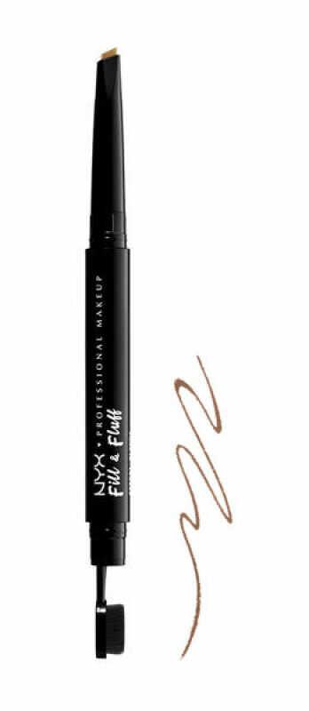 NYX Professional Makeup - Fill & Fluff Eyebrow Pomade Pencil - Pomada w kredce do wypełniania brwi - TAUPE
