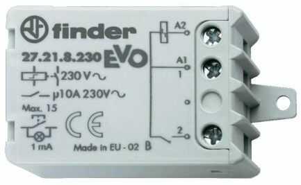 Przekaźnik impulsowy 1NO 10A 230V AC 27.21.8.230.0000