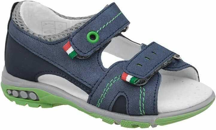 Sandałki dla chłopca KORNECKI 6313 Granatowe Sandały - Granatowy
