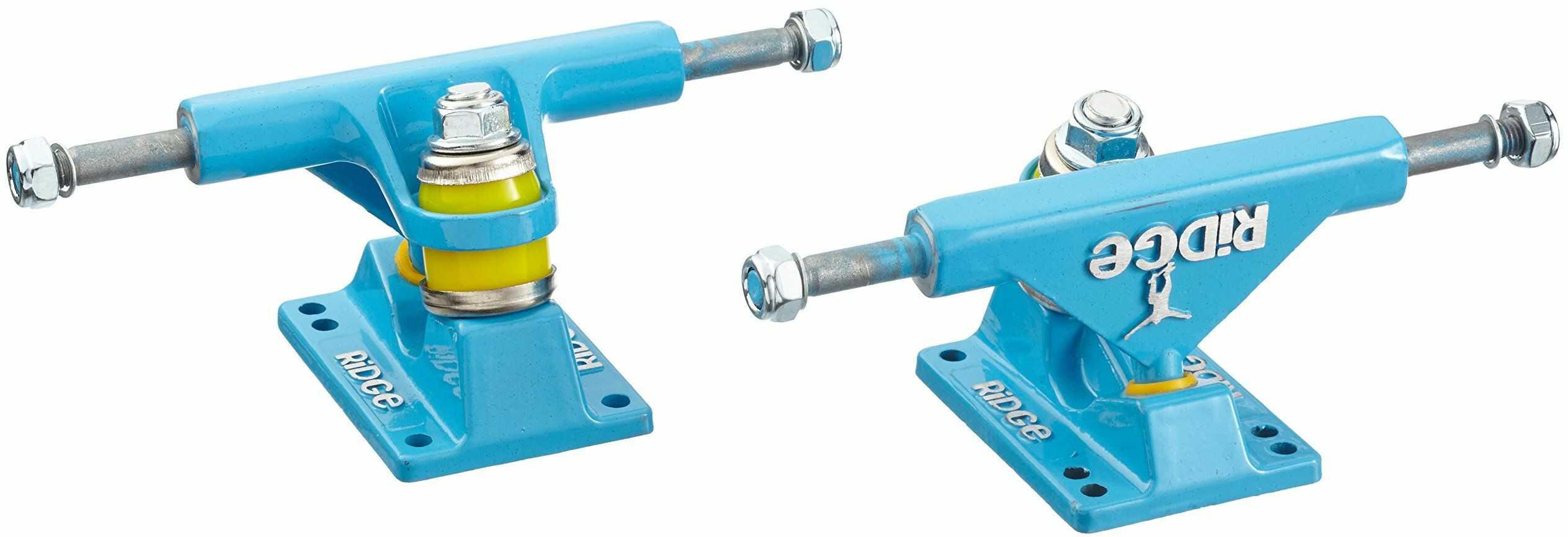Ridge Skateboards Unisex 27 Trucks deskorolkowe dla Big Brother Cruiser-Blue, 10 cm, 10-68 cm