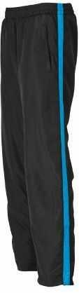 James & Nicholson Damskie spodnie sportowe Laufhosen damskie spodnie ciążowe Niebieski (czarny/Atlantycki) L