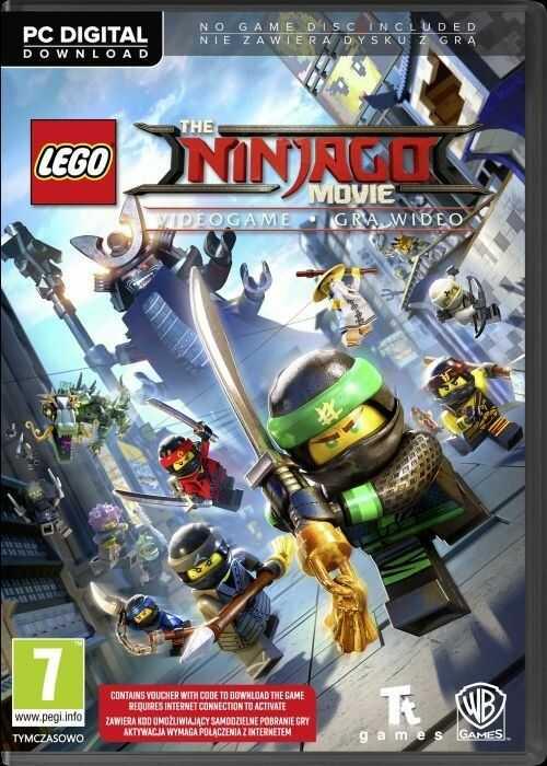LEGO Ninjago Movie - Gra wideo (PC) PL klucz Steam