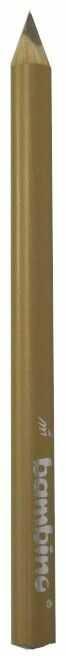 Kredka Bambino w drewnianej oprawie gruba trójkątna 5003738 5003745, Kolor: Złoty