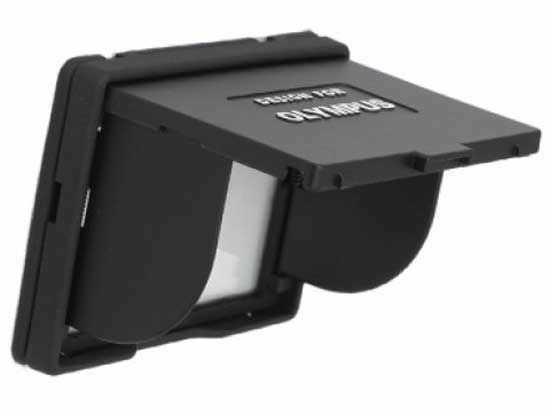"""Osłona wyświetlacza LCD Olympus 2.5"""" czarna"""