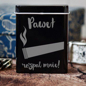 Rozpal mnie - etui na papierosy z grawerem