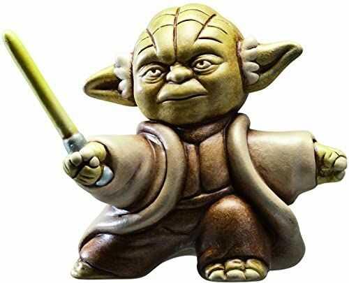 Joy Toy 651377 - Star Wars figurka kolekcjonerska Fighting Yoda, 13,5 x 13,5 x 9 cm