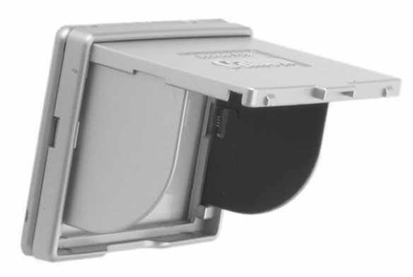 """Osłona wyświetlacza LCD Olympus 2.5"""" srebrna"""