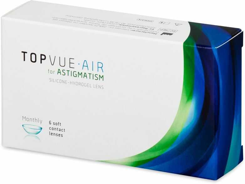 TopVue Air for Astigmatism (6 soczewek)