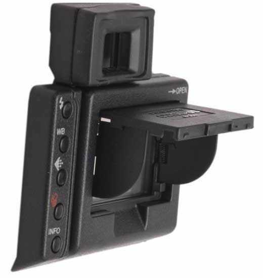 Osłona wyświetlacza LCD Olympus E300