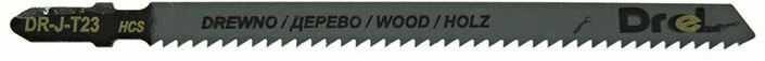 """Brzeszczoty do wyrzynarek z chwytem typu """"T"""",drewno/sklejka, długość pracy 100mm,5szt"""
